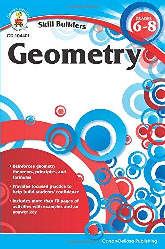 Geometry, Grades 6-8 (Skill Builders (Carson-Dellosa))
