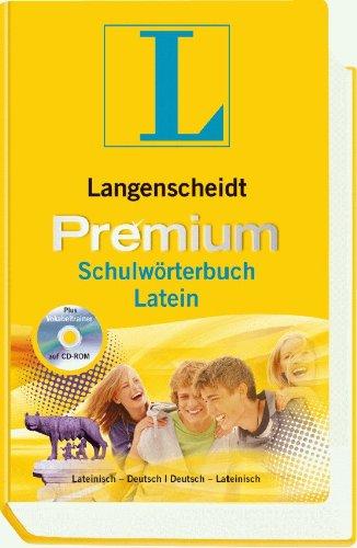 Langenscheidt Premium-Schulwörterbuch Latein: Lateinisch-Deutsch/Deutsch-Lateinisch (Langenscheidt...