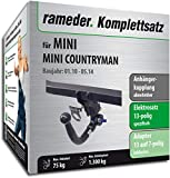 Rameder Komplettsatz, Anhängerkupplung abnehmbar + 13pol Elektrik für Mini Mini Countryman (143027-08981-2)