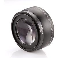 Fotga 43 mm 0,45 x grandangolo & Macro obiettivo di conversione per Canon Nikon, ecc