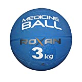 #6: ROXAN RUBBER MEDICINE BALL/GYM EXERCISE BALL 3 KG