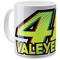 VR46 Rossi Mug White Valeyellow, One Size