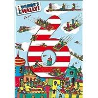 Woodmansterne Where's Wally 6th Birthday Card Card - 6 Arabian Carpets