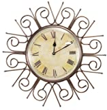 Goyal India Antique Copper Wall Clock (B...