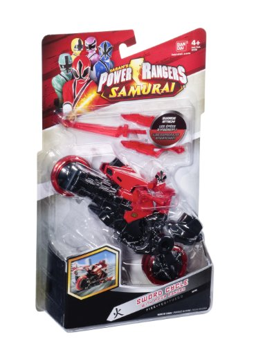 Power Rangers - 31750 - Figurine - Moto Katana - 31751 - Rouge
