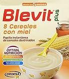 BLEVIT Plus 8 Cereales Con Miel - 600 gr