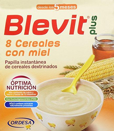 BLEVIT Plus 8 Cereales Con Miel 600G