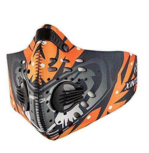 Fengyuan Máscara respiración Deportiva - Máscara
