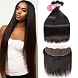 Best Brazilian Straight 4 Bundles - 22 24 26with 20 Frontal , Straight Hair Review