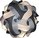 Lampada Puzzle L 35 cm grigio/bianco bastel proiettore