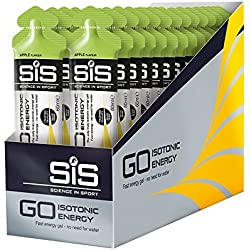 Science in Sport Caja de 30 Geles Isotónicos, Sabor Manzana - 30 x 60 ml - Total: 1800 ml