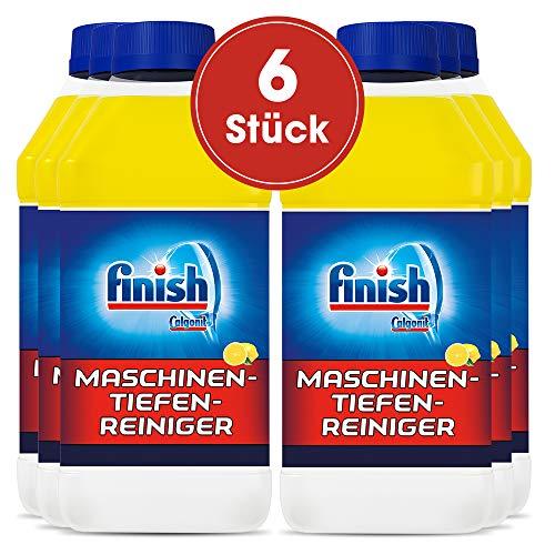 Finish Maschinenpfleger Citrus, Spülmaschinenreiniger, 6er Pack (6 x 250 ml)