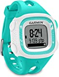 Garmin - 010-01241-71 - Forerunner 15 - Montre de Running avec GPS Intégré - Turquoise/Blanc