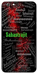 Sahastrajit (Thousand Times Victorious, Lord Krishna, Lord Vishnu) Name & Sign Printed All over customize & Personalized!! Protective back cover for your Smart Phone : Sony Xperia XA Ultra