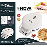 K T Traders Nova 5 Slice Heart Shape Waffle Maker 1000 Watts NWM-2426