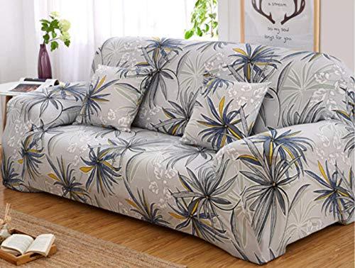 ZZZXX Sofabezug Abdeckung Sofa-Überwürfe Sofa Druck Stoff Blume Vogel Muster Elastischen Stuhl Loveseat Couch Sofa 1-Teiliger Haustier-Hundeschutz, Schwarzer Bambus -