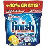 Finish pastilles pour lave-vaisselle Limon-25 pastilles 40 %