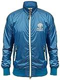 Franklin & Marshall Mens Blau Saphir leichte Zip Jacke XX-Large