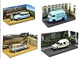 - Batch von 4 Citroen Vans: CX HY ID19 C15 Artisan Nutzfahrzeuge 1/43 (04-07-20-10)
