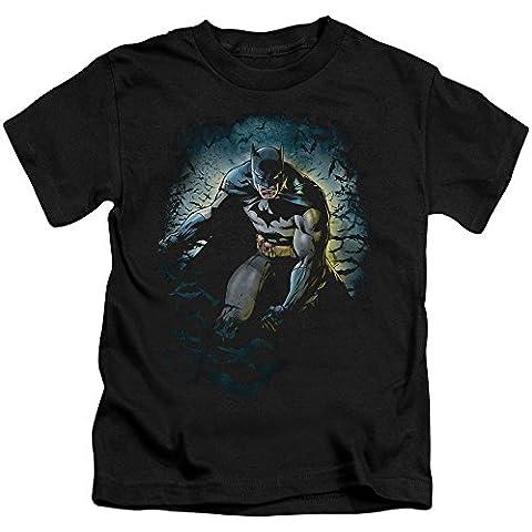 Batman - - Cueva de los Murciélagos Juvee Camiseta En Negro