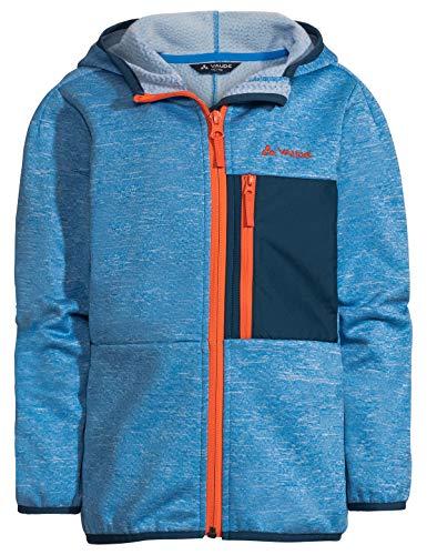 Vaude Kinder Kids Kikimora Jacket, Fleecejacke Jacke, Radiate Blue, 122/128