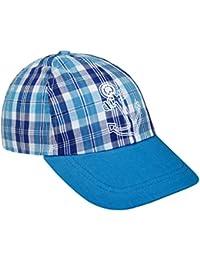 EveryHead Fiebig Jungenbasecap Basecap Baseballcap Sommercap Kappe Schirmmütze Streetwear Baby Kleinkind kariert für Kinder (FI-85003-S16-JU1) inkl Hutfibel