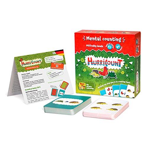 gen der Arithmetik, Lernspiel für das Alter 6+ und 8+, Hochwertiges Kartenspiel zum Erlernen von Summen und mathematischen Grundlagen! Spielend Spaß haben! Spielend lernen! ()