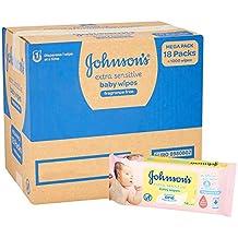 Johnsons Baby - Pack toallitas Extra Sensibilidad - 18x56 unidades