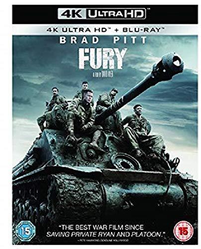 Fury 4K Ultra HD + BLU RAY 2018 [Blu-ray] [UK Import]