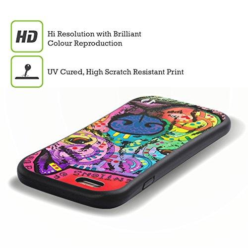 Ufficiale Dean Russo Biddie Cani 3 Case Ibrida per Apple iPhone 6 Plus / 6s Plus Intenzioni