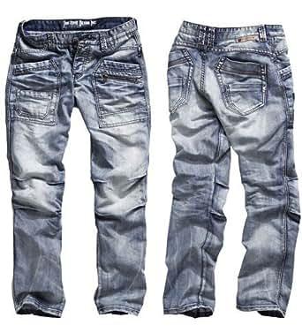Timezone Herren Jeans 'Clay' Comfort Fit Waschung wählbar, ;Wash:cool wash (3212)