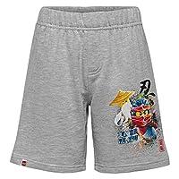 Lego Wear Lego Boy Ninjago Cm-50239-Sweat Short, Grey Melange 912, 152