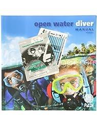 Manuel PADI Open Water Diver avec table de plongée classique RDP - VF