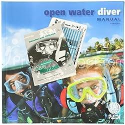 Padi Manuel Open Water Diver avec Table de plongée Classique RDP - VF
