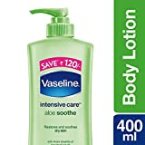 Vaseline Intensive Care Aloe Soothe Body Lotion, 400 ml