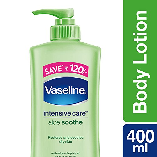 Vaseline Intensive Care Aloe Soothe Body Lotion, 400ml