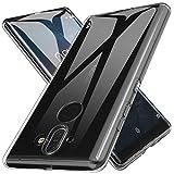 LK Coque Nokia 8 Sirocco, Ultra [Svelte Mince] Housse Coque Protecteur Silicone Peau Douce Caoutchouc Gel TPU Résistant à la Rayure pour Nokia 8 Sirocco - Clair