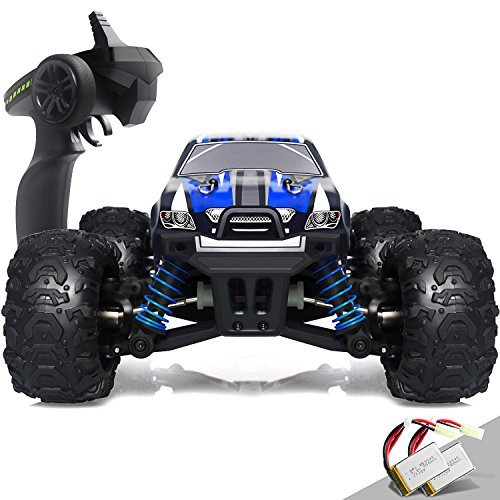 IMDEN Remote Control Car, Terrain RC Cars, Electric Remote Control Off Road Monster Truck, 1:18 Scale 2.4Ghz Radio 4WD 30+ MPH RC Car, with 2 Rechargeable Batteries