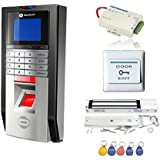 Bio Fingerprint and Rfid Card Door Access Control System & Time Attendance Kits Magnetic Lock