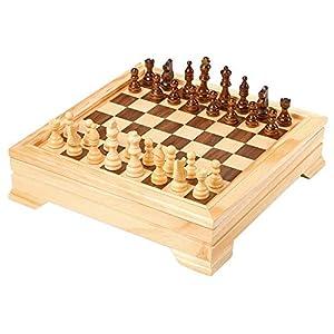 Legler - Ajedrez, para 2 Jugadores (Small Foot Company 7580) (Importado)
