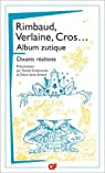 Album zutique : Suivi de Dixains réalistes par Cros