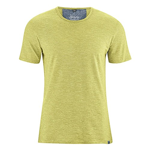 HempAge Herren T-Shirt Marc aus Hanf/Bio-Baumwolle Apple