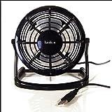 Link-e ® : Mini ventilateur USB de bureau silencieux, orientable, compatible ordinateur PC, MAC, consoles...