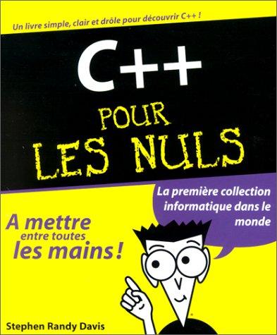 C++ pour les nuls par S.-R. Davis