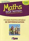 Mathématiques CM2 Cycle 3 Maths Tout terrain - Fichier photocopiable de différenciation
