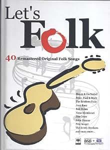 Lets Folk - 40 Remastered Original Folk Songs - Asian Import Boxset & Booklet