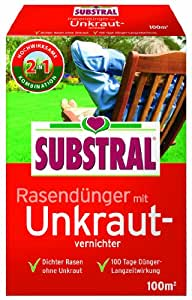 substral rasend nger mit unkrautvernichter f 100 m 2 kg garten. Black Bedroom Furniture Sets. Home Design Ideas