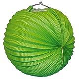 Everflag Ballonlaterne/Lampion: Grün 35cm