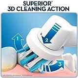 Oral-B Elektrische Zahnbürste Pro 600, mit CrossAction Aufsteckbürste Bild 2