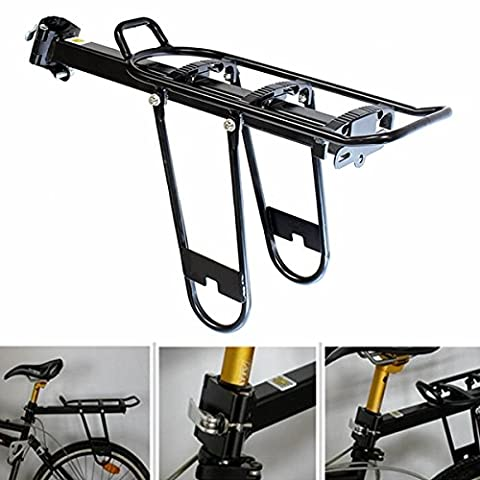 Inovey Bike Bicycle Radfahren Quick Release Hinten Rack Sitzpost Pannier Carrier Gepäck